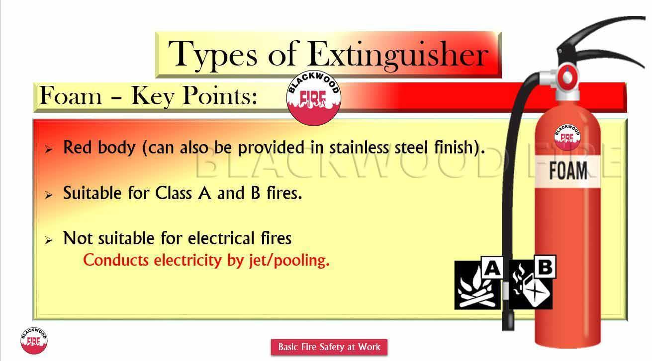 Types of fire extinguisher their uses blackwood fire types of fire extinguisher and their uses foam thecheapjerseys