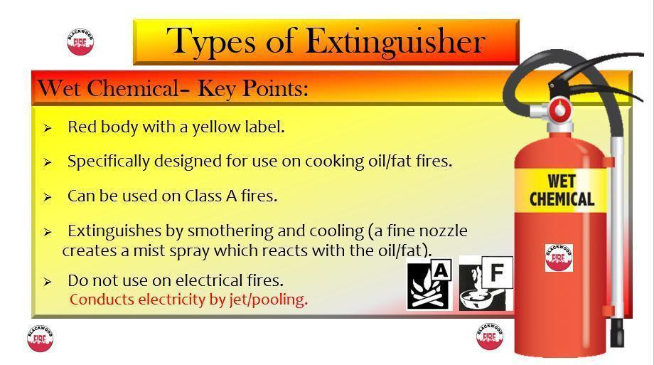 how to use different types of fire extinguishers