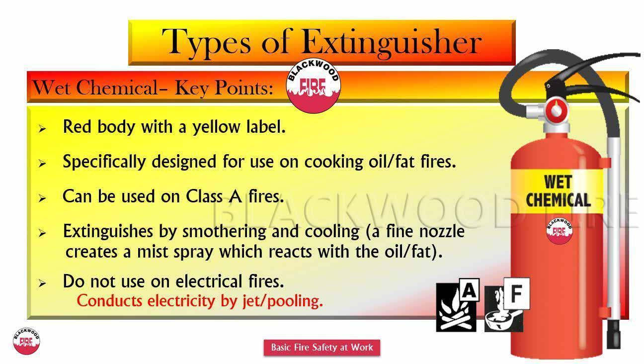 Types of fire extinguisher their uses blackwood fire types of fire extinguisher and their uses wet chemical thecheapjerseys Images