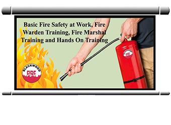 Fire safety training - Fire warden training - Fire marshal training - Fire extinguisher training