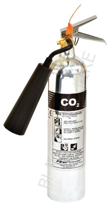 FirePower CO2 Polished Fire extinguisher