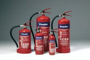 Firepower Powder Fire Extinguishers