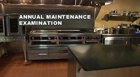 Fire Protection Equipment - Annual maintenance examination